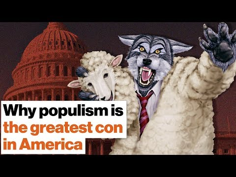 Why populism is the greatest con in America   Martin Amis