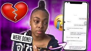 CATFISHING my boyfriend to see if he CHEATS 💔 ( you wont believe this )
