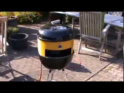 Super Pizza ring op barbecue zelf maken - YouTube ST45