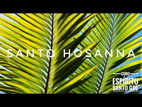 Canto de Santo   Hosanna   Catholic Mass   Choir Holy Spirit   2016