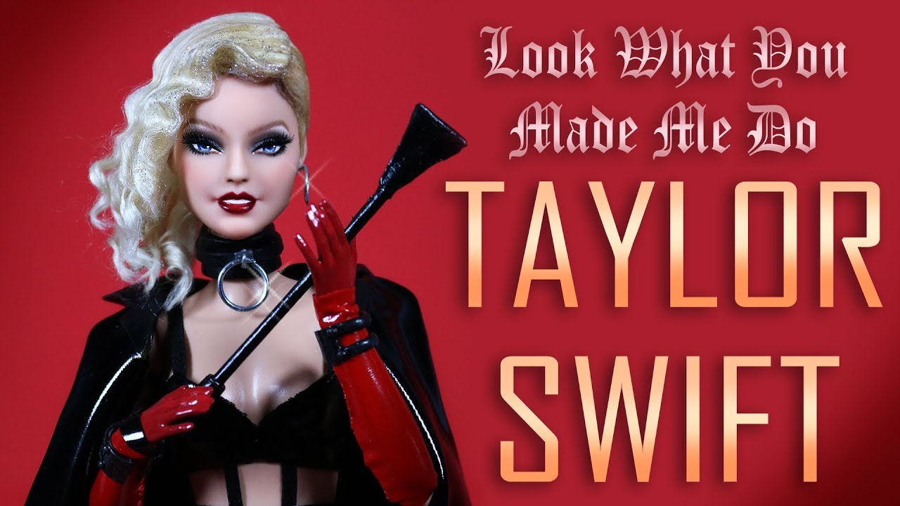 Custom Taylor Swift Doll Look What You Made Me Do Youtube