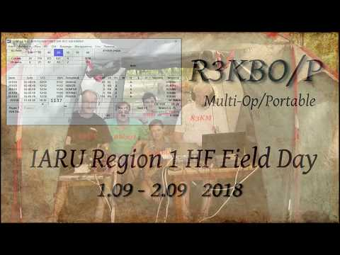 IARU Region 1 HF Field Day (SSB) 2018 Multi-Op/Portable R3KBO/P