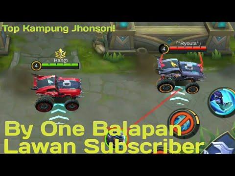Top Kampung Johnson On Racing 1 VS 1 Same Subscriber! - Mobile Legends Indonesia