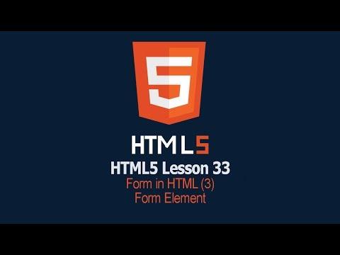 HTML Form Elements | Lesson 33 HTML Tutorial | safhatech.com thumbnail
