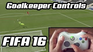 FIFA 16 Goalkeeper Controls Tutorial PS4/Xbox One/PC