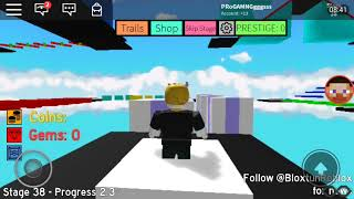 Track played Mega Fun Obby roblox