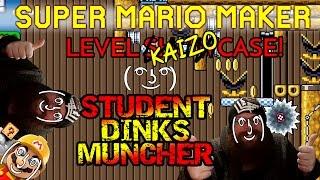SUPER MARIO MAKER - STUDENT DINKS MUNCHER - KAIZO COLLEGE STELLAR STUDENT