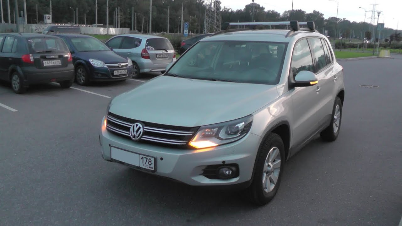 Купить Фольксваген Тигуан (Volkswagen Tiguan) 2 л. 2011 г. с .