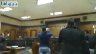 بالفيديو: لحظة الحكم بالإعدام على قاتل عروس بنها-