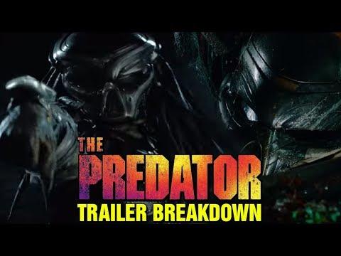 THE PREDATOR TRAILER REVIEW AND BREAKDOWN - PREDATOR 4 MOVIE
