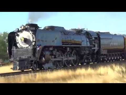 Union Pacific 844 From Greeley, CO to Cheyenne, WY July 2016