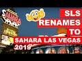Return of The Sahara Las Vegas Hotel Casino  Sept 2019 ...