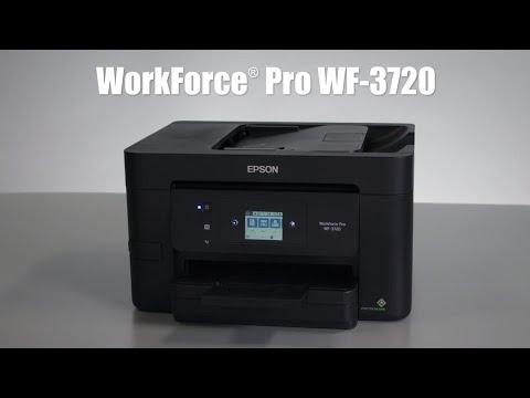 Epson WorkForce Pro WF-3720 | Take the Tour