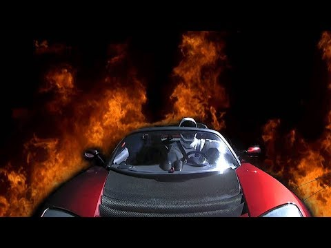 The Tesla Roadster Should Be Melting... [SPACE IS FAKE]