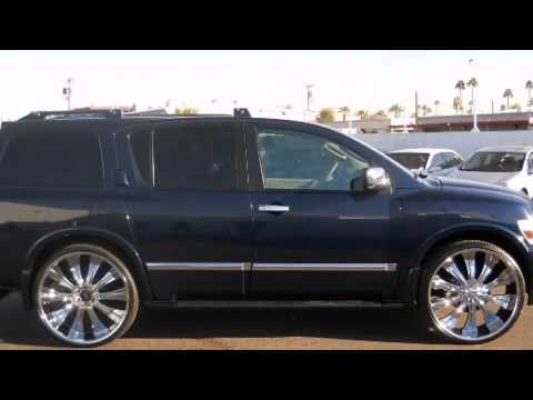 2007 Infiniti Qx56 4wd In Phoenix Az 85014 Youtube