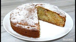 Яблочный Пирог на Кефире Легко и Просто Пирог/Шарлотка Рецепт