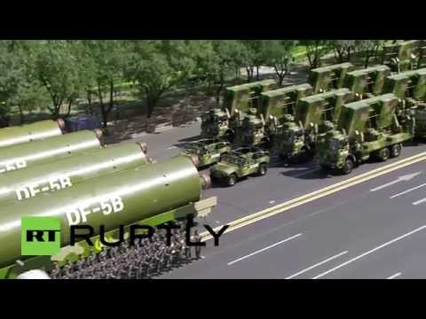 China: 2,400-strong choir kick off military parade in Beijing