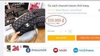 Đại diện Shopee nói gì về tình trạng tràn lan hàng nhái thương hiệu trên các chợ online?| VTV24