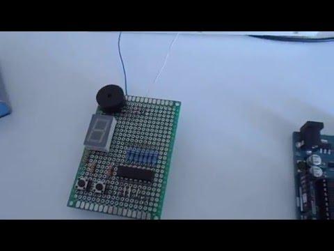 Бомба с часовым механизмом ( ЧАСТЬ 2 ) или Пиротехнический патрон с таймером на ардуино