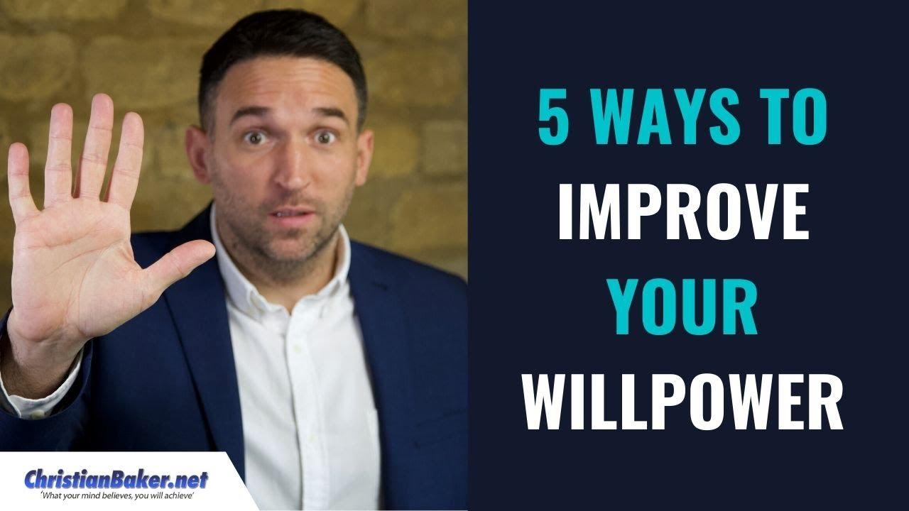 Improve willpower to ways #015: Three