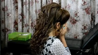 hairstyles for long hair wedding(nazia bilal)