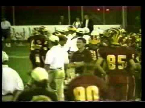 Game 3: Clovis West vs. Buchanan Bears, 19951996 championship football season highlights