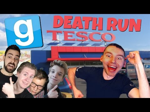 UCIECZKA Z TESCO | GARRY'S MOD: DEATH RUN #6