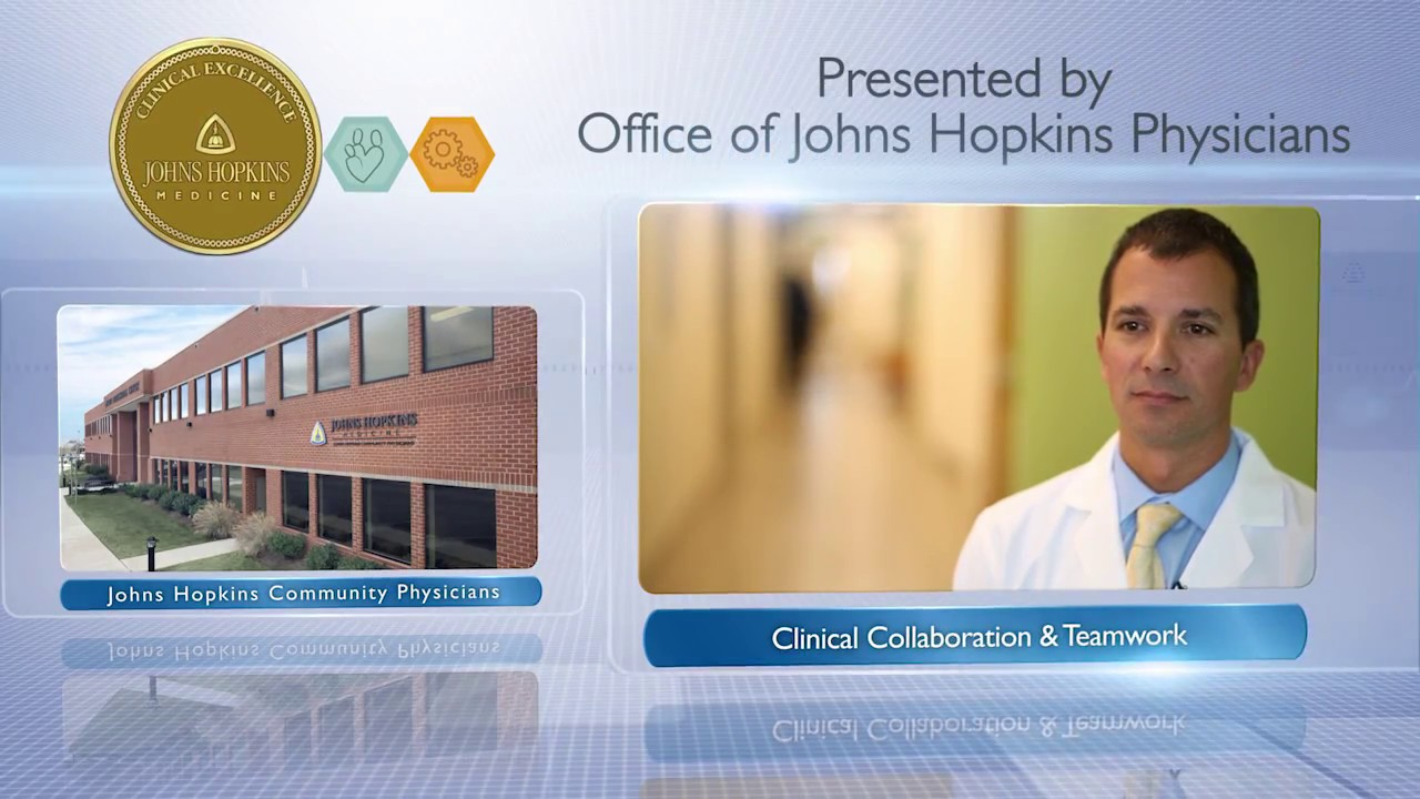 2016 Clinical Collaboration and Teamwork Award – Michael Albert, M D  &  Remington Project Team, JHCP