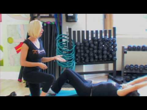 Tone Upper Abs with Long Arm Crunch – Exercise Demo by Becky's Fitness Company