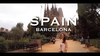 Spain - Barcelona #Must see - Sagrada Familia, Park Guell, Monjuic fountains (Gopro Hero 4)