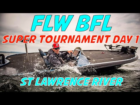 FLW BFL St Lawrence River and Lake Ontario - Day 1 of the 2 day BFL Super Tournament begins now!