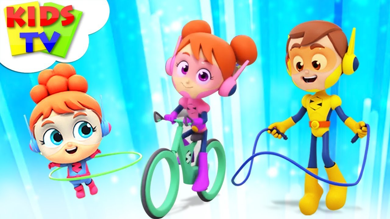 Exercise Song | The Supremes Cartoons | Children Songs & Learning Videos - Kids TV