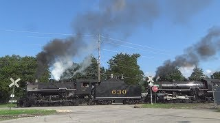 Southern Steam on the Tennessee Valley RR ft. 630 & 4501