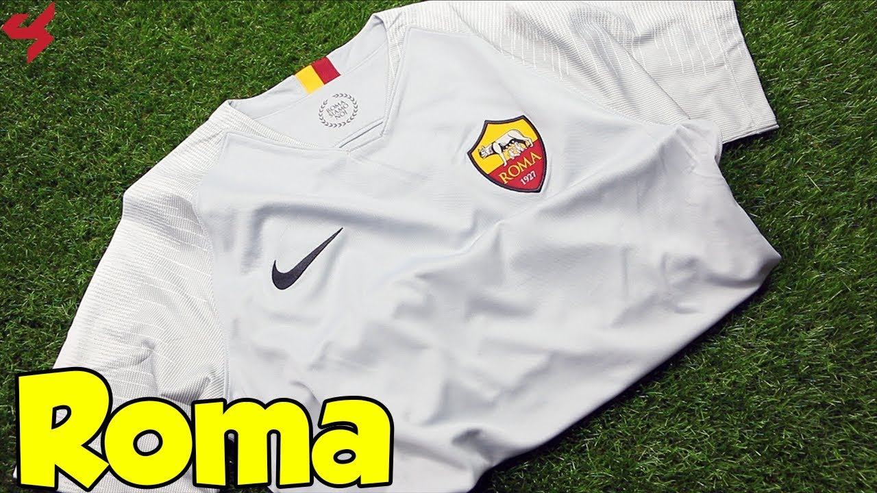 37f1c68dfab Nike AS Roma 2018 19 Away Jersey Unboxing + Review from Subside Sports