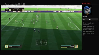 Transmisión de PS4 FIFA 18