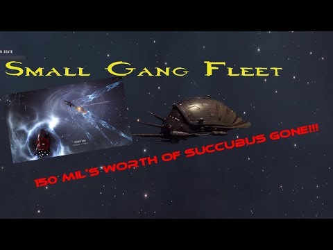 SUCCUBUS NOOOO!!! EVE Online Small Fleet