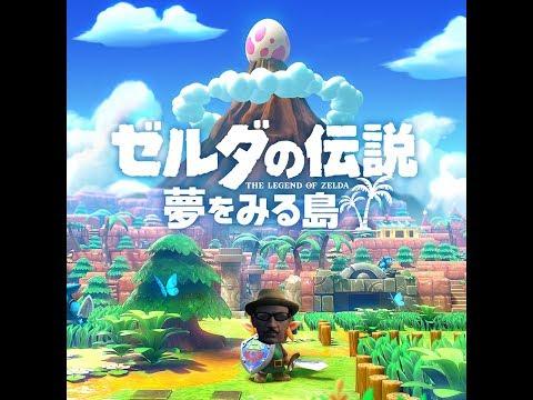 【live】ゼルダの伝説夢を見る島をプレイPart2「草原で大草原」編【初見プレイ】