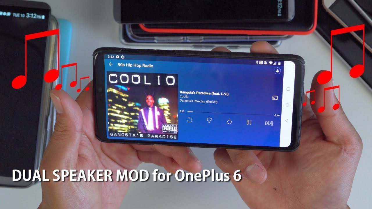 Dual Speaker MOD for OnePlus 6! [Stereo Sound][HighOnAndroid]