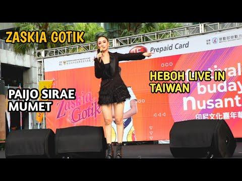 Download 🔴ZASKIA GOTIK [PAIJO] LIVE GEMPARKAN TAIWAN Mp4 baru