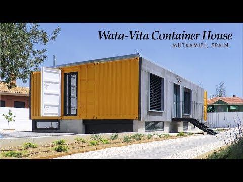 Wata-Vita House at Mutxamel, Alicante | Container Home