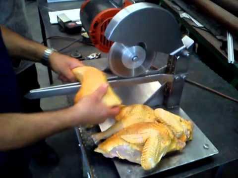 Cortadora de pollo youtube for Despresadora de pollo