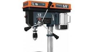 Taladro de banco o de piso TRUPER 3/4 hp /bench press or floor truper 3/4 hp