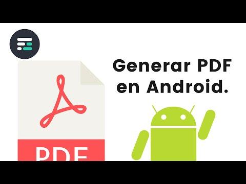 Generar PDF en Android - Bytes