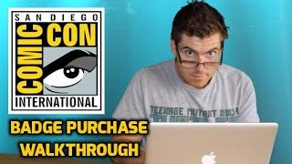 My Experience Purchasing Badges for San Diego Comic-Con 2015