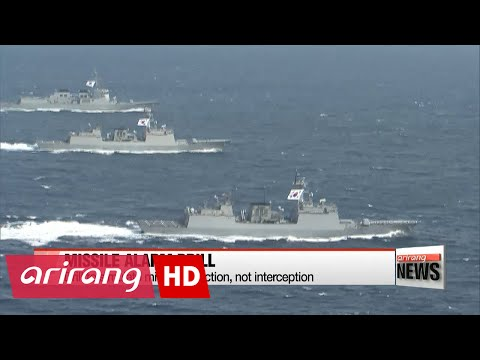 S. Korea to join missile alarm drill with Japan and U.S during RIMPAC
