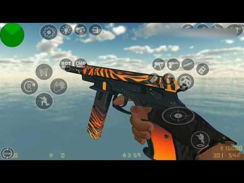 CS:GO Ports Studios - HD CZ-75A Auto (6 SKINS)