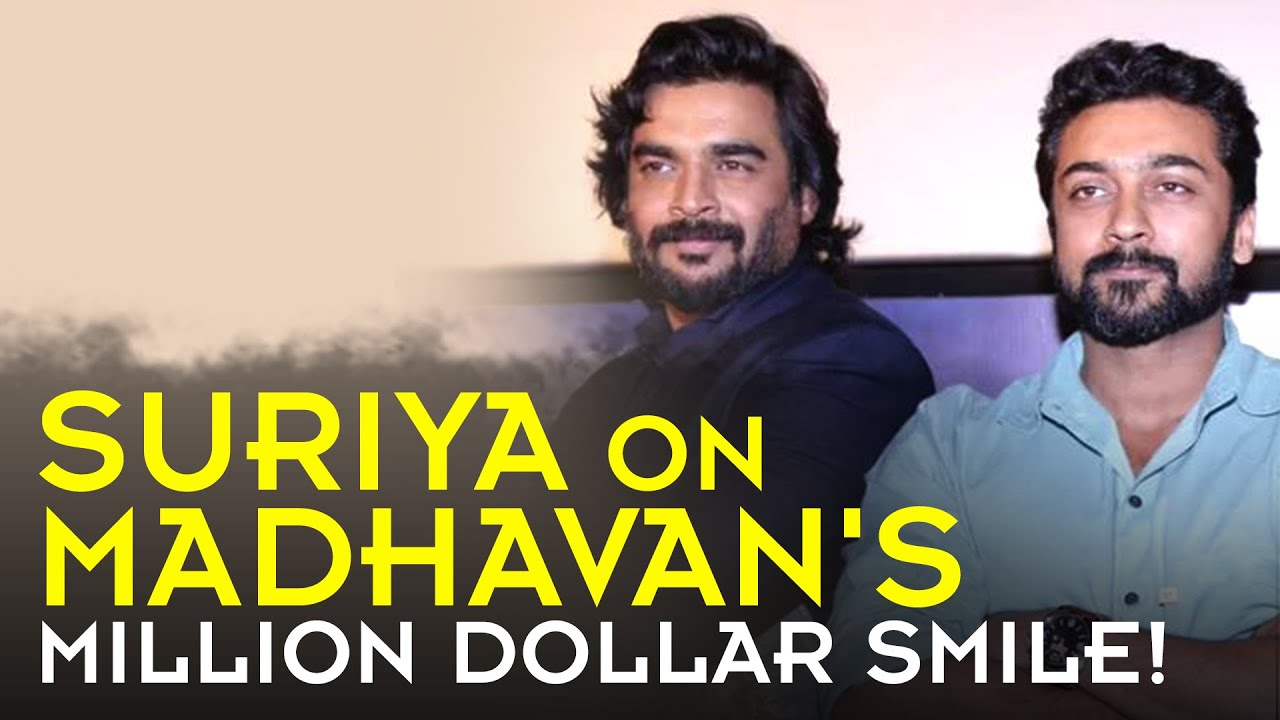 Download Suriya on Madhavan's million dollar smile!
