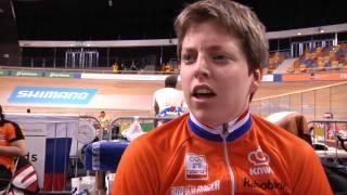 WK Paracycling baan 2015 - Alyda Norbruis pakt opnieuw de wereldtitel