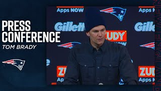 """Tom Brady on the Patriots: """"They are the greatest organization"""""""
