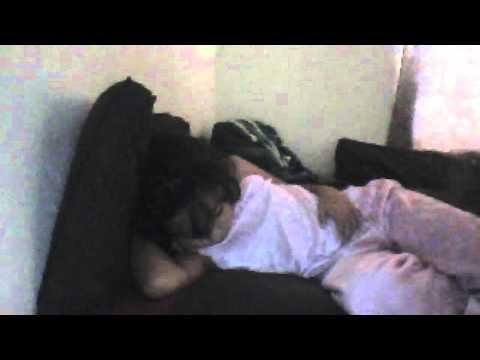 Mi hermana durmiendo